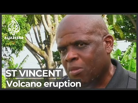 Volcano on Caribbean's St Vincent erupts, spews ash and smoke