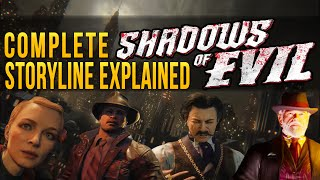 Entire Shadows Of Evil Storyline Explained | Black Ops 3 Zombies Shadows of Evil Secret Storyline