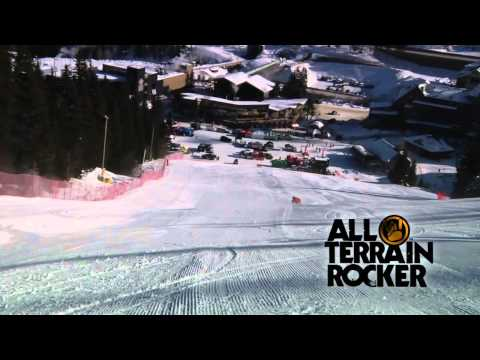2011 - 2012 K2 Aftershock All Mountain Performance Skis with bindings and All-Terrain Rocker