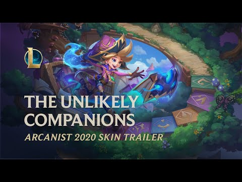 Arcanist 2020: The Unlikely Companions | Official Skins Trailer – League of Legends