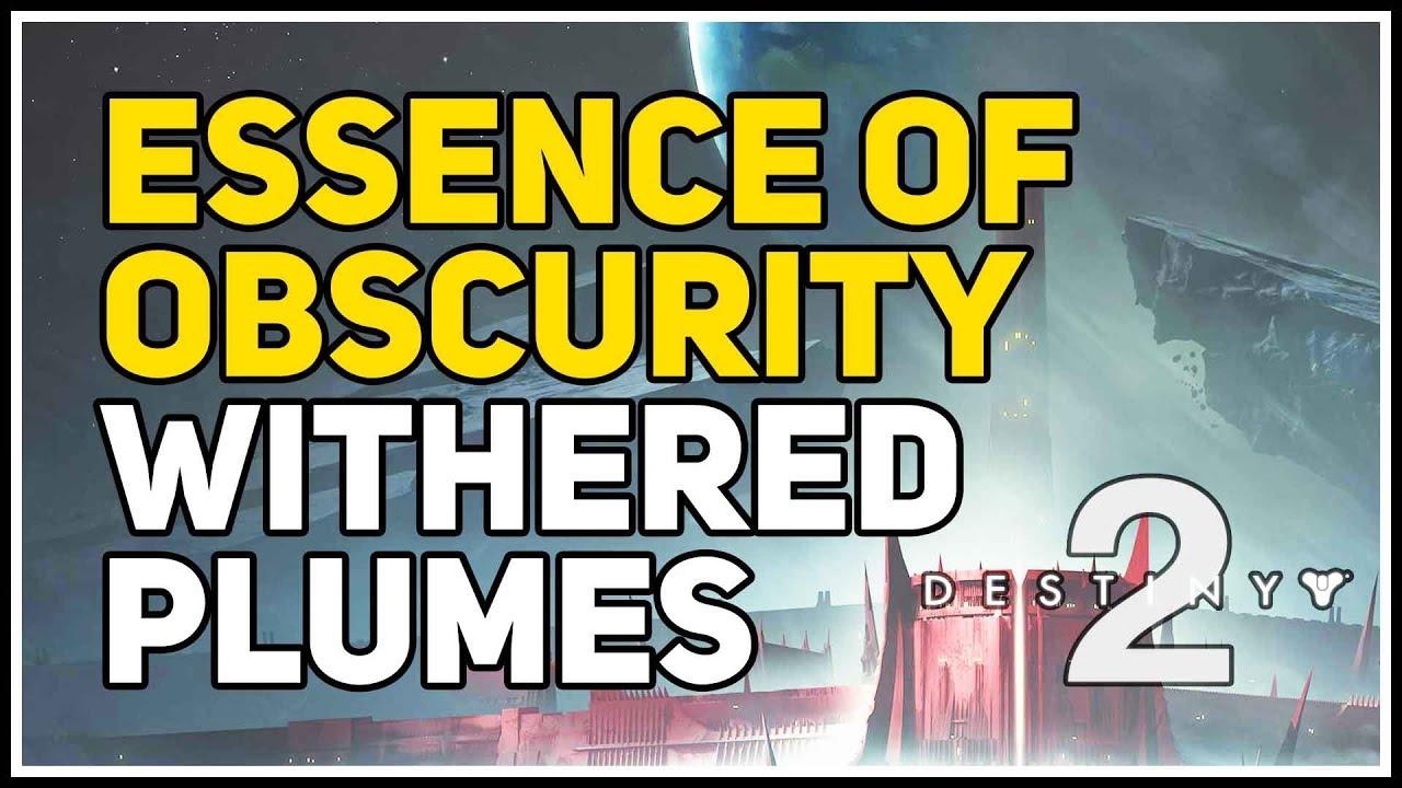 Come trovare le Withered Plumes di Destiny 2 e completare l' Essenza dell' Oscurita'