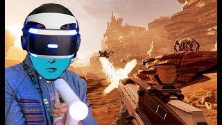 LẦN ĐẦU WEBCAM LỘ MẶT - Unbox PSVR và chiến game THỰC TẾ ẢO