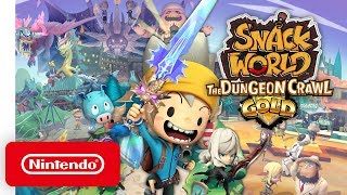 SNACK WORLD: The Dungeon Crawl - Gold - Launch Trailer - Nintendo Switch