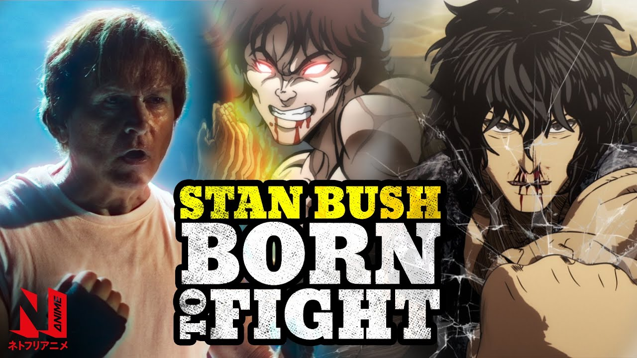 STAN BUSH - Born to fight