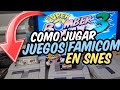 Tutorial C mo Jugar Videojuegos Super Famicom En Consol