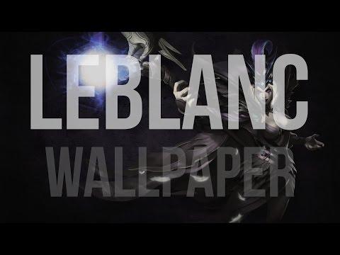 Wallpaper in Photoshop - League of Legends (Raveborn LeBlanc)