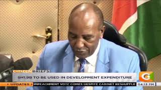 Governor Kimemia Approves Ksh 6.5B Budget