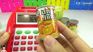 BabyBus - Tiki Mimi và Trò Chơi siêu thị có máy tính tiền