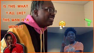 """WILD AND AGGRESSIVE JxyThePxet Reacts to NBAYoungBoy """"Dead Trollz"""" & """"Peace Hardly"""""""
