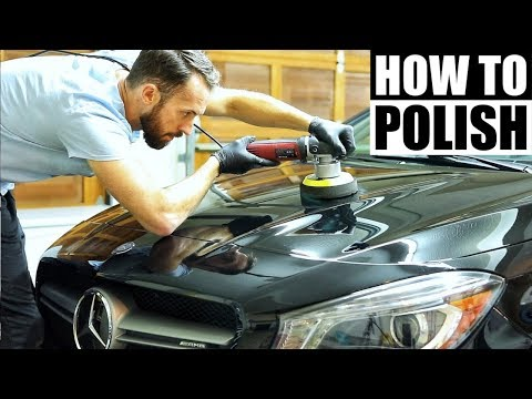 How To Polish A Car For Beginners - Car Detailing and Paint Correction!