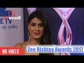 Shagun Ajmani At Zee Rishtey Awards 2017   Viralbollywood