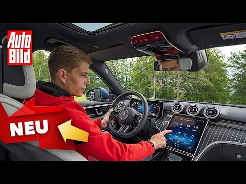 Mercedes C-Klasse W 206 (2021) | So funktioniert MBUX in der C-Klasse | Mit Moritz Doka
