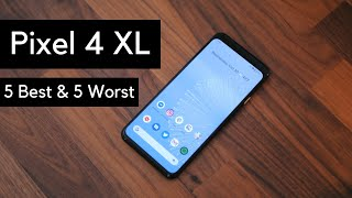 Google Pixel 4 XL: 5 Best and 5 worst things