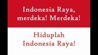National Anthems: Indonesia - Indonesia Raya + Lyrics + translations in subtitles