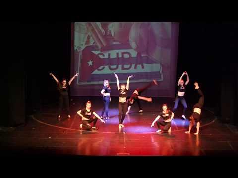 Latin mix (jive, rumba, cha-cha-cha) 3 párral a 'Villejuif-Dunaújváros' előadáson