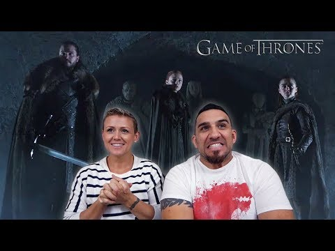 Game of Thrones Season 8 Official Tease: Crypts of Winterfell REACTION!!