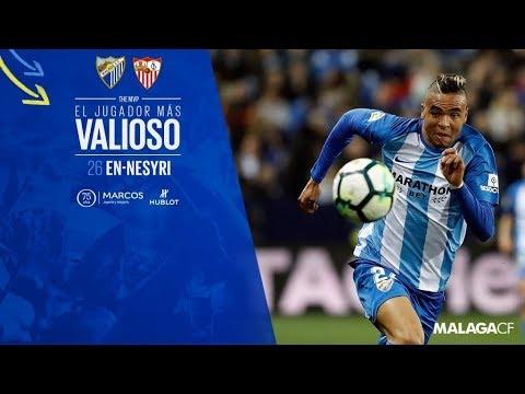 En-Nesyri, elegido el mejor del partido ante el Sevilla por la afición