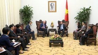 Tin Tức 24h: Thủ tướng Nguyễn Xuân Phúc tiếp Giáo sư Đại học Harvard