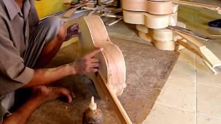 RAHASIA..!! Begini Cara Orang Solo Membuat Gitar   Dengan alat Seadanya, Jadi Gitar Luar Biasa..!!