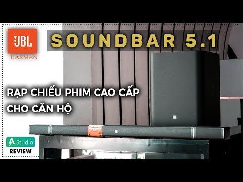 Trải nghiệm JBL Soundbar 5.1| Dàn âm thanh cao cấp nhất của JBL