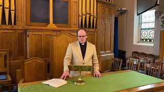 7th June Sunday Sermon