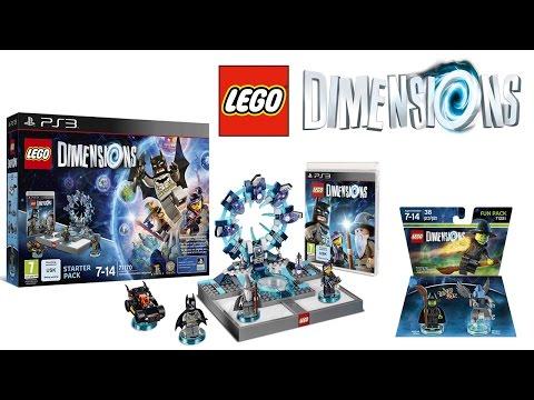 Vidéo LEGO Dimensions 71171 : Pack de démarrage : PS4