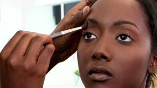 Natural Makeup for Brown Skin Tutorial with Jackie Mgido Part 2 - Eyes Cheeks & Lips