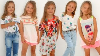 ZARA kids Haul ✔︎ Детские покупки одежды на ЛЕТО с примеркой ✔︎ Как одеть ребенка стильно | Часть 1