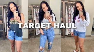Target Casual Summer Try On Haul | Affordable Fashion Clothing Haul