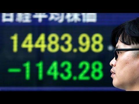 pourquoi la bourse baisse