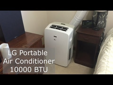 LG 10000 BTU Portable Air Conditioner Review