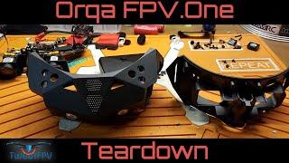 Orqa goggle tear down. #orqa #disassembly #fpv_goggles