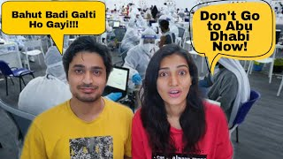 How To Travel to Abu Dhabi from India during Covid   How we Skipped Government Camp in Abu Dhabi