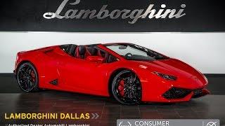 2016 Lamborghini Huracan LP 610-4 Spyder Rosso Mars L0904