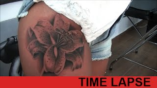 Lily Tattoo - Time Lapse