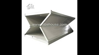 China Magic Folding Container House--4 Minutes One House