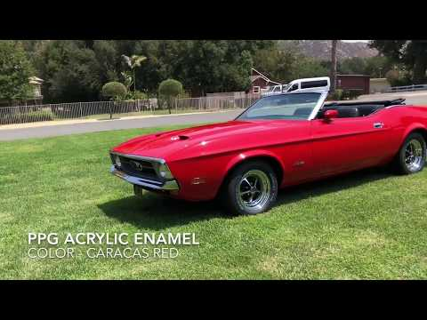 Video of '71 Mustang - OCLD