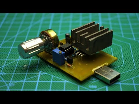 DIY USB electronic load