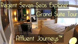 Regent Seven Seas Explorer Grand Suite Tour