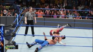WWE 2K18 Curt Hawkins Vs Zack Ryder