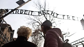 Auschwitz survivor travels back to former hell, 75 years on
