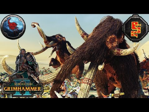 THE GREAT MAWHERD OF BLOODFJORD - SFO Grimhammer - Total War Warhammer 2