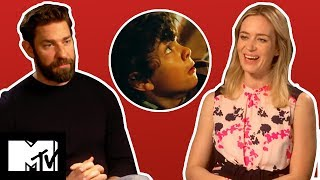 A Quiet Place SCARIEST Moments – Emily Blunt & John Krasinski Reveal Favourites | MTV Movies - Video Youtube