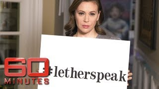 #LetHerSpeak: Celebrity fight to change law silencing sexual assault victims | 60 Minutes Australia