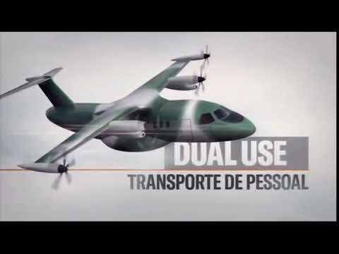 Stout, el futuro avión de transporte de la Fuerza Aérea Brasileña y Embraer