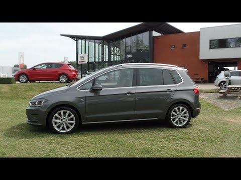 Volkswagen Golf Sportsvan Highline 2017 - 2018 Indium grey metallic