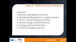 8 Steps for Building a Successful Service Catalog
