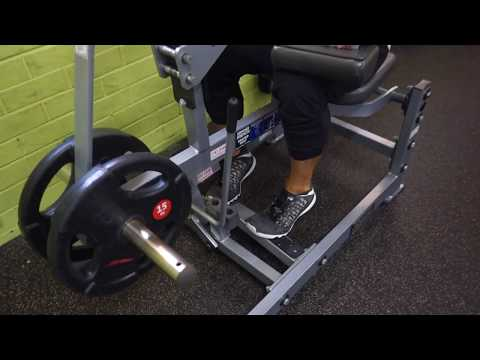 Seated Calf Raises Toes In