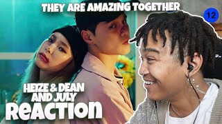헤이즈 (Heize)   And July (Feat. DEAN, DJ Friz) MV   REACTION | AN EXCELLENT DUO!