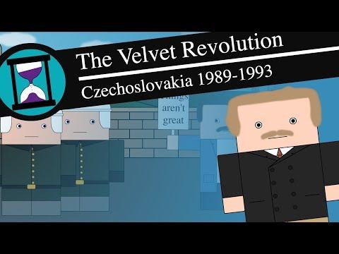 Sametová revoluce a rozpad Československa